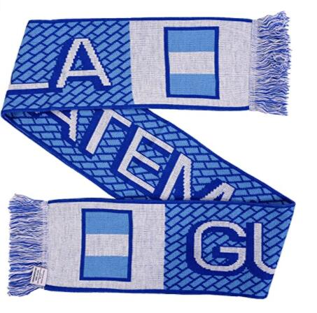 Sports football club 2021 New customized 100% polyester scarf