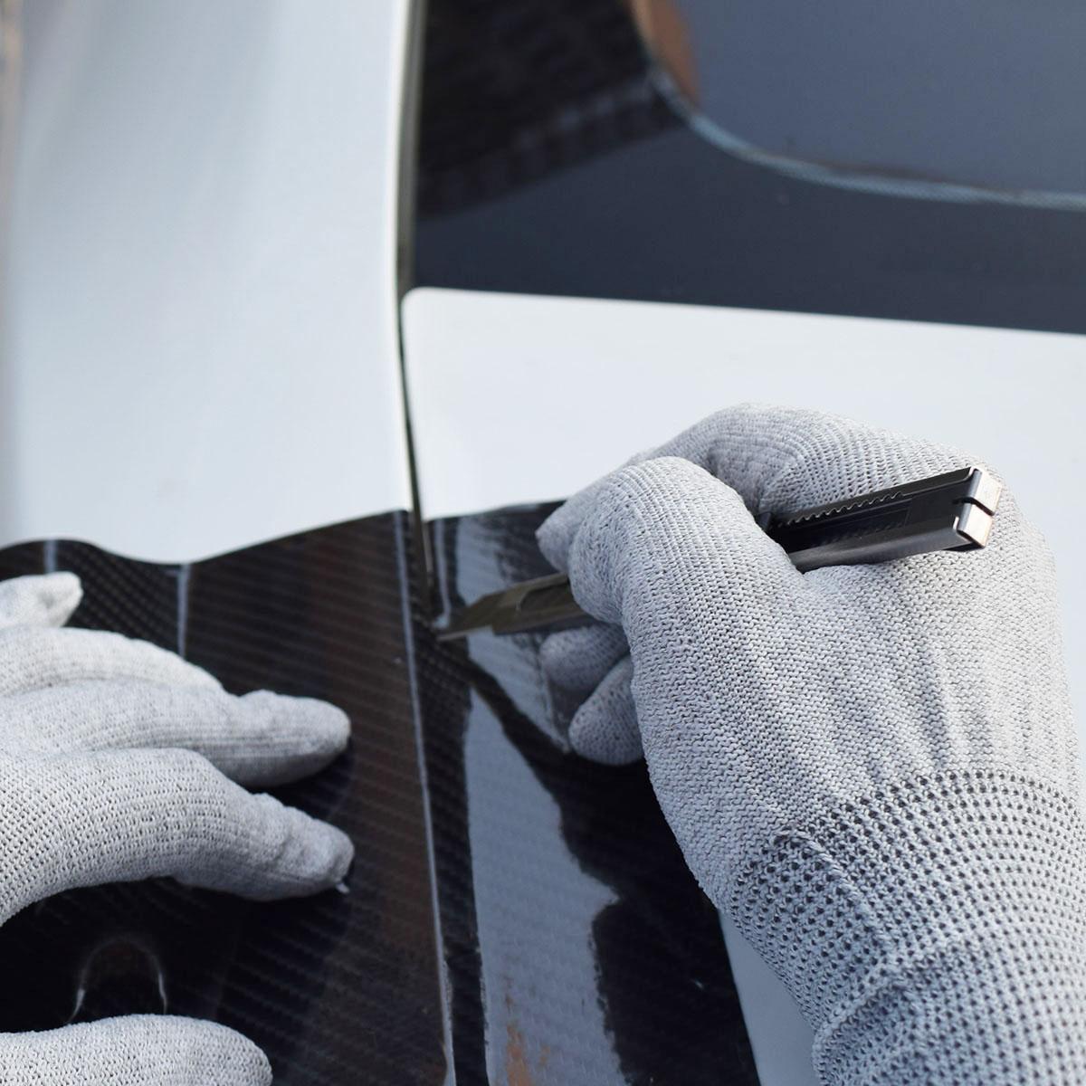 Легкие 9 мм защелкивающиеся лезвия 30 градусов тонкий нож для резки E02