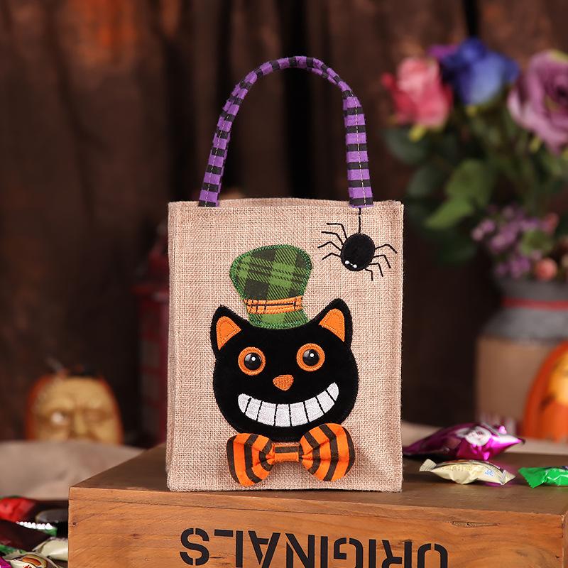 Декорации для детского сада креативный призрак реквизит сумка для конфет на Хэллоуин
