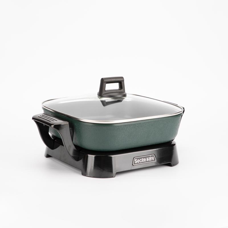 Новый стиль, хорошее качество, съемная Функциональная электрическая плита 30 см, сковорода