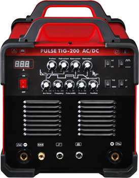 Chinese Pulse Inverter Aluminum ac dc tig 200p welding machine/welder with good aftersale service ALUTIG-200PAC/DC