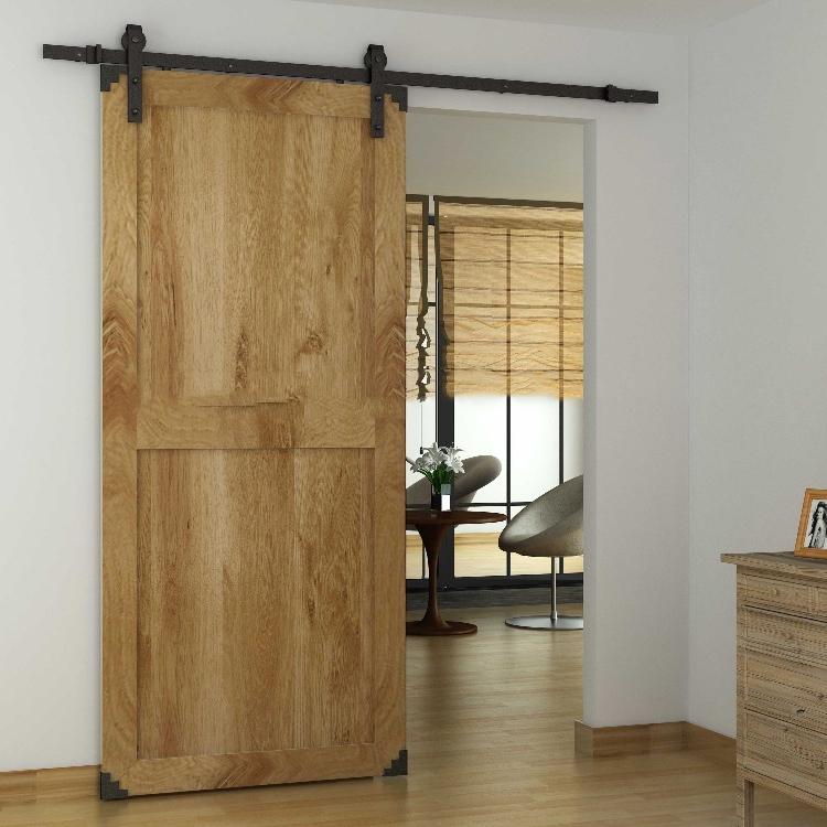 Sliding Slab Barn Door Withwrap Angle Interior Solid Wood Bedroom Door Buy Solid Wood Door Interior Solid Wooden Doors Wood Bedroom Door Product On Alibaba Com