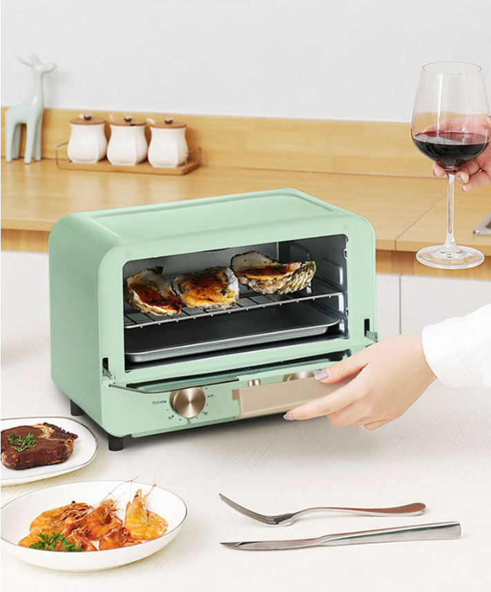 Kitchen Appliance Portable Hot Air Microwave Rapid Speed Pizza Electric Oven Mini 12L Bakery Drying Toaster Ovens