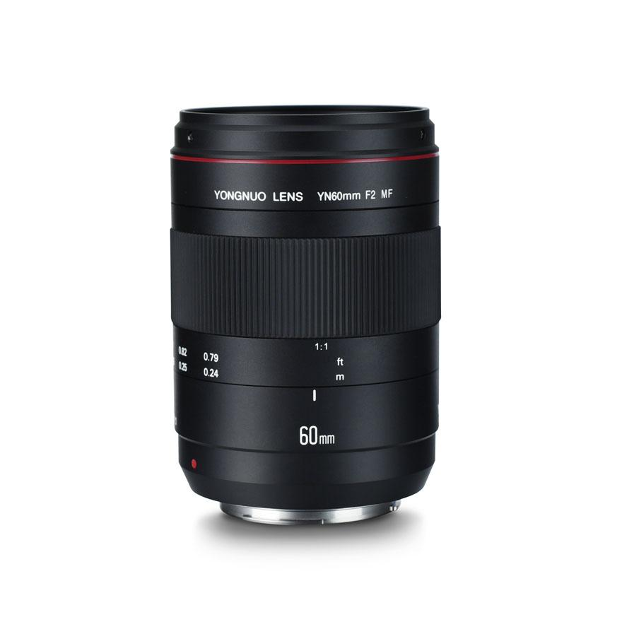 Rd YONGNUO Macro Lens YN60mm F2 MF for 700D 70D 650D 750D 1200D 6D mark II 5D mark IV Canon DSLR Camera