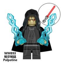 Legoed Звездные Войны Имперский ребенок йода мандалориан Рей Кайло Рен Финн Палпатин люк строительные блоки Скайуокера детская игрушка подар...(Китай)
