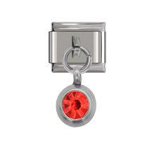 Оригинальный браслет Hapiship, 9 мм ширина, ромашка, цветы, Бабочка, крестик, зеленый браслет с итальянскими подвесками, нержавеющая сталь, для из...(Китай)