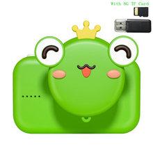 2,0 ''20MP мини Детская камера IPS экран HD 1080P Детская цифровая фотокамера игрушка с батареей 600mAh детские игрушки Рождественский подарок(China)