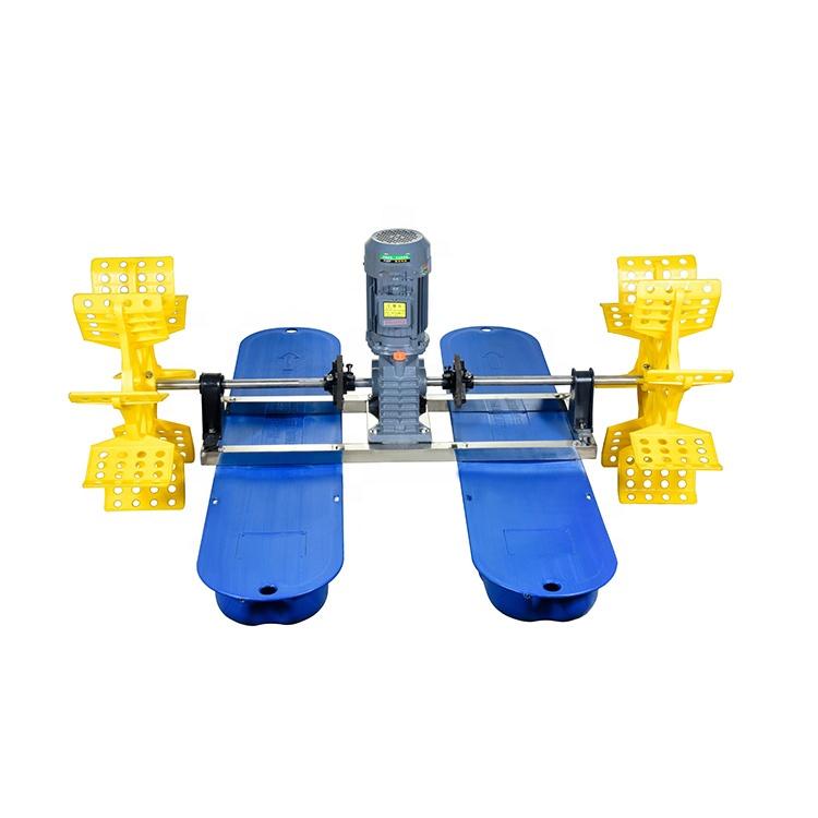 0.75KW Fish Shrimp Pond Water Surface Floating Paddle Wheel Aerator