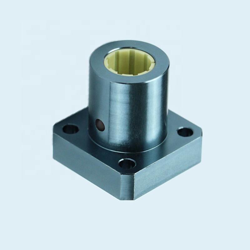 FJZM Model Dry Linear Motion Plastic Bearing Square Base