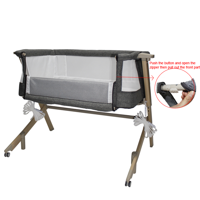 Baby Nest Bed Portable Crib Mosquito Net Travel Bed Cotton Cradle For Newborn Baby Crib