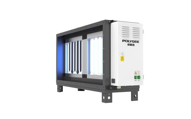 Электростатический промышленный дымовой фильтр, электростатический масляный туманообразующий дымовой фильтр ESP для ресторана, кухни, черный очиститель