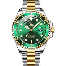 Топ бренд TDO Мужские автоматические механические часы бизнес роскошный Высокое качество Япония движение подарки для мужчин(Китай)