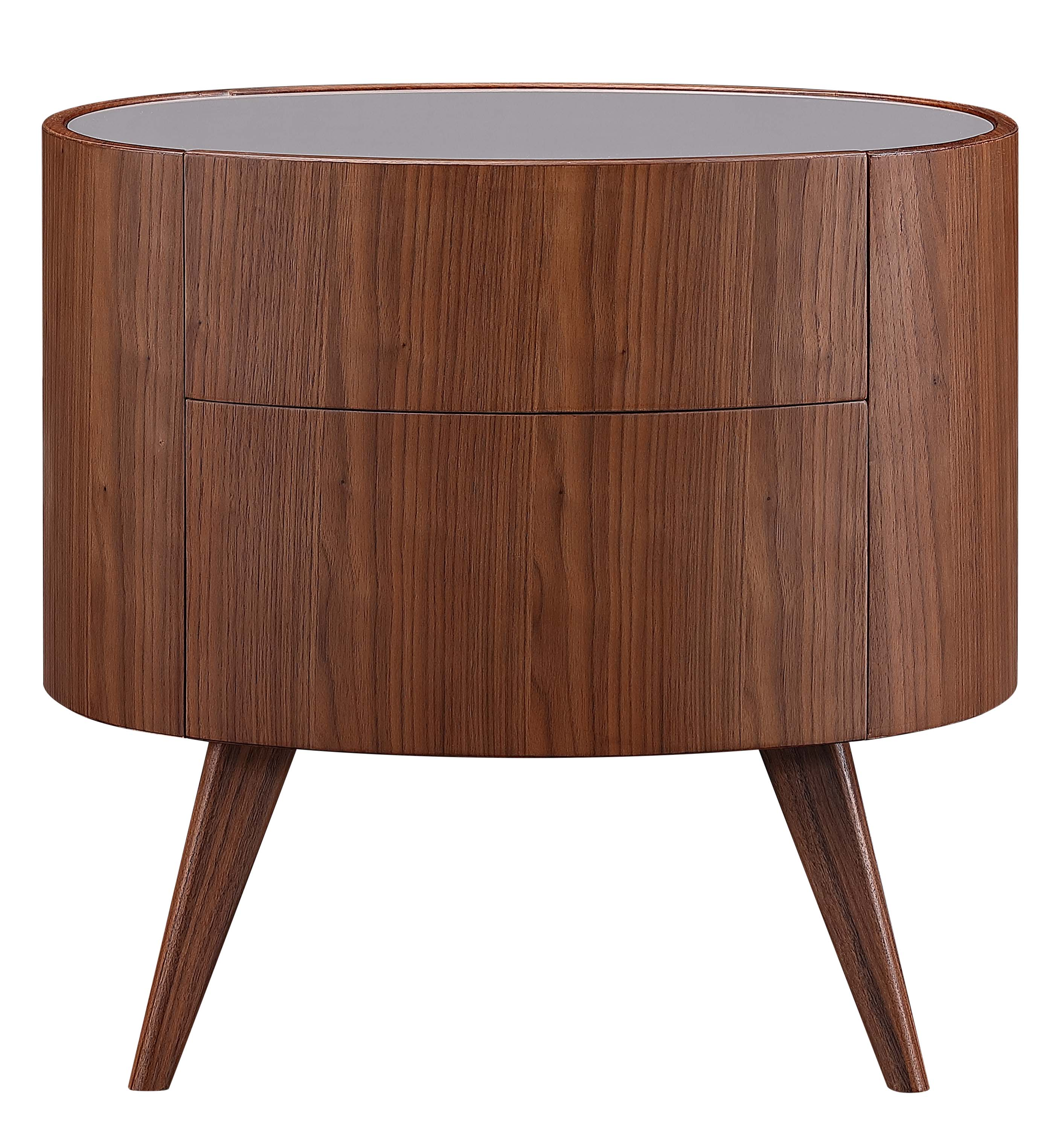 Bedroom Furniture Round Bedside Table For Home Modern Design Glass Top Nightstand Table With A Drawer Buy Round Wood Bedside Table For Bed Room Bedroom Furniture Nightstands With A Drawer Modern Glass Top