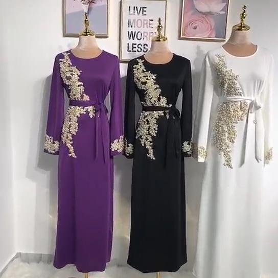 Abaya Dubai Türkei Muslim Hijab Kleid Kaftan Kaftan Marocain Islamische Kleidung Für Frauen Ramadan Kleider Islam Robe Musulman