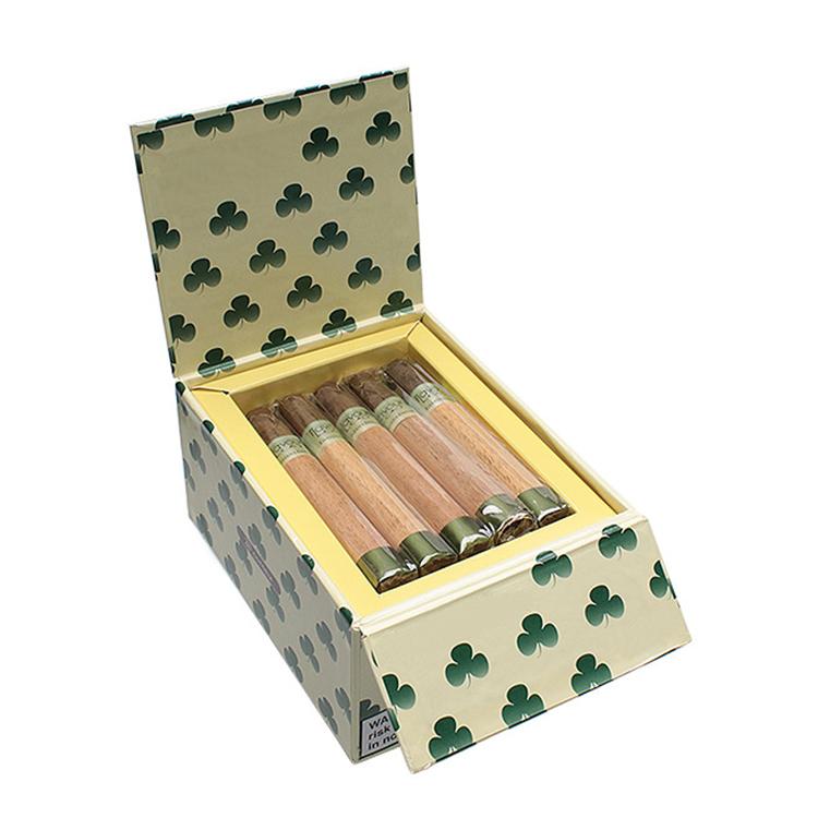 Упаковка для сигар с логотипом на заказ, коробка для сигар ручной работы, оптовая продажа, коробка для сигар