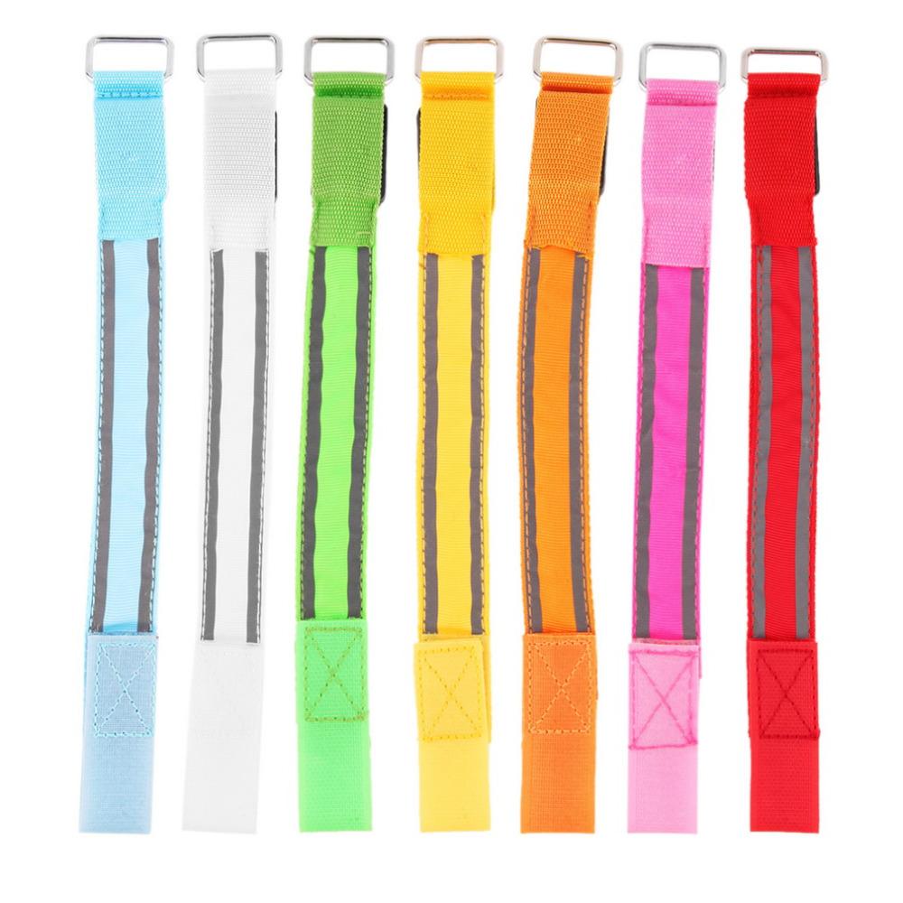 USB зарядка Ночной свет для бега безопасная вспышка Светоотражающая полоса световая Пряжка сигнальная Светодиодная лента