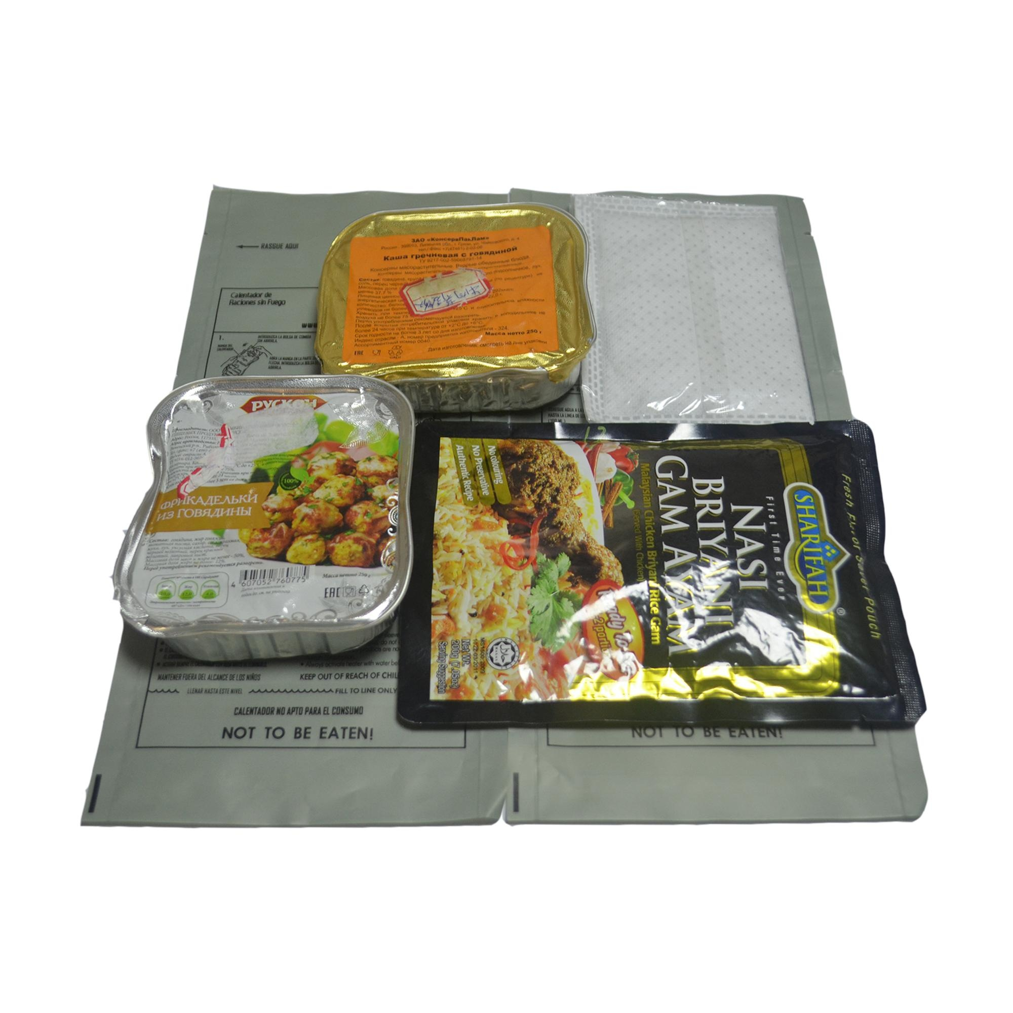HQF-040 HongQiang Hot Selling Military MRE Flameless Ration Heater Bag with Good Price