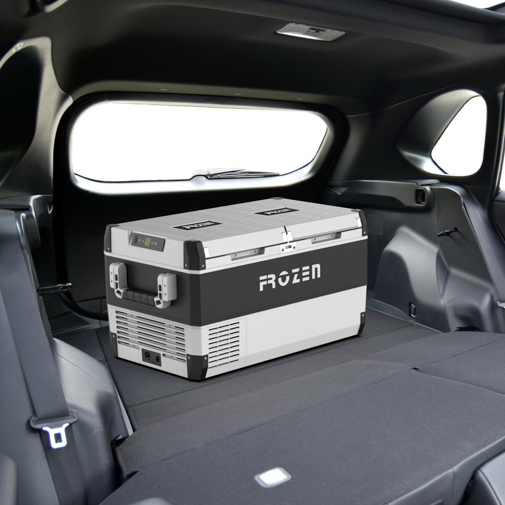Охладитель для автомобиля с компрессором, 75 л, 12 В постоянного тока
