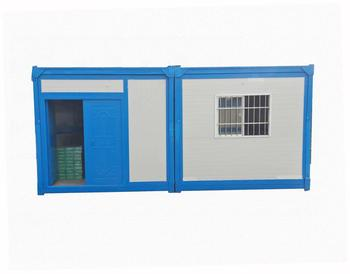 Manufacturers selling fast-installing easy-folding container houses suitable for simple accommodation