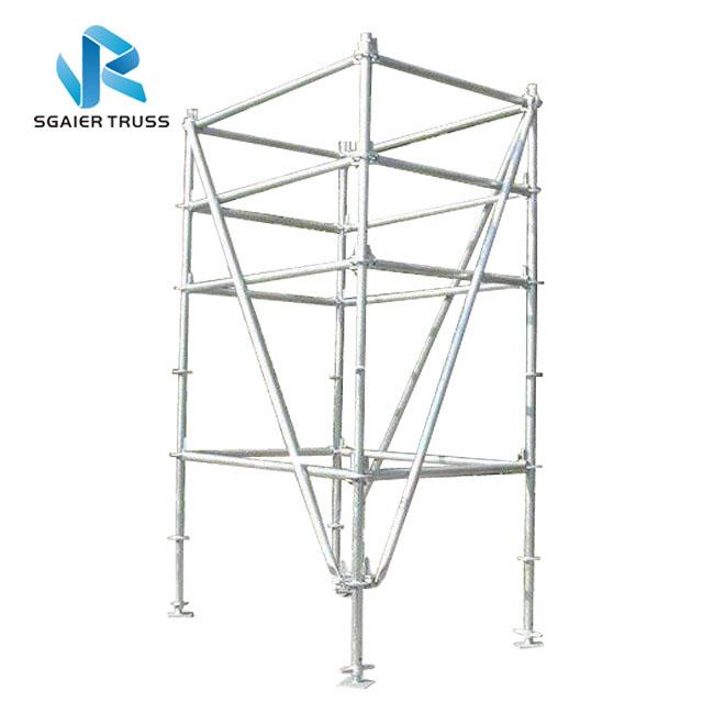 Подвижные переносные алюминиевые строительные леса 4 м/5 м/6 м/8 м/10 м