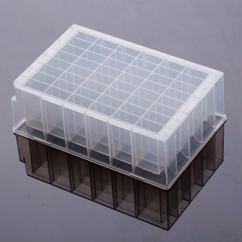 Laboratory Supply U Bottomed Deep Well Plate 48 Square Well 4.6ml Disposable Plastic for Lab Test Use