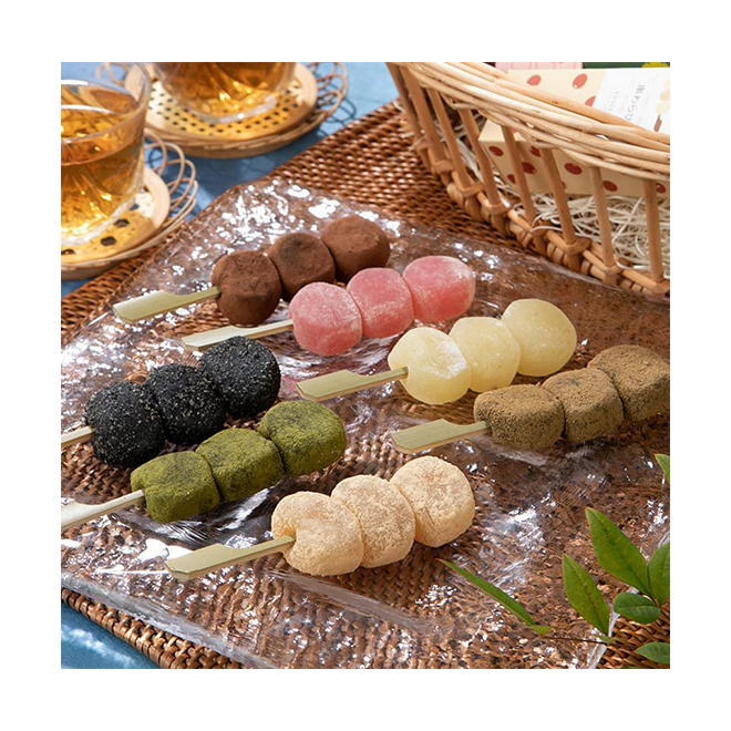 Traditional Japanese Confectionery Mochi Sweets Chocolate dulces agranel Candy Cake Rice Grain Food Kids Snack Cracker Maker