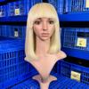 Mesin penuh renda wig