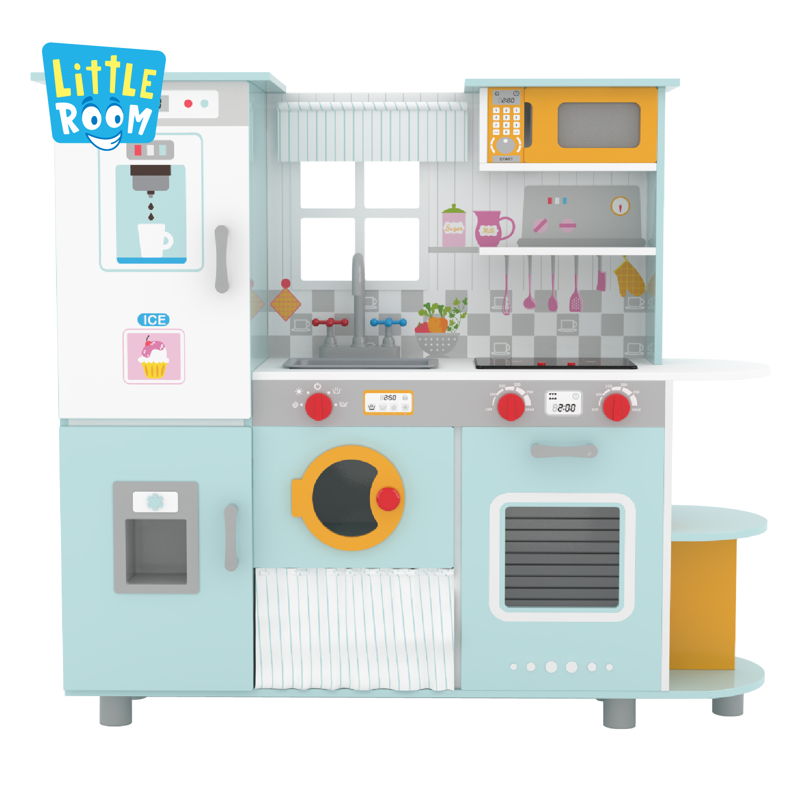 Best Australia Preschool Kids Shop Making Learning Wooden Kitchen Cook Toys Set For Children