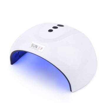 White Nail Dryer For Manicure USB Ice Lamp Nails Art Tool For Quick Drying All Gel Polish Hybrid Varnish UV LED Nail Lamp