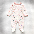 Baby romper 0-1 years old baby suit pure cotton cartoon pattern newborn clothes