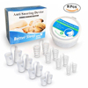 4 pieces of silicone + 4 pieces of hollow anti-snoring device