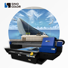 UV Flatbed Printer printing on Glass Bottle Mug Printing Machine 6090 uv printer SinoColor FB0906