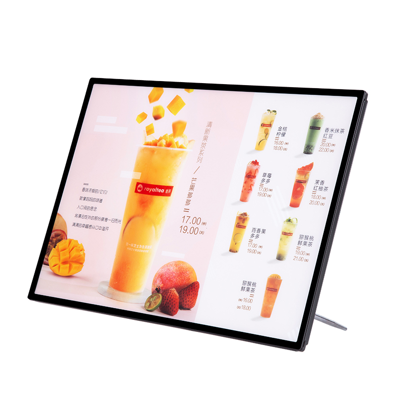 Ультратонкий световой короб, светодиодная рамка A1 A2 A3 A4Silkscreen, световой короб для дисплея, серебристая и золотистая рамка