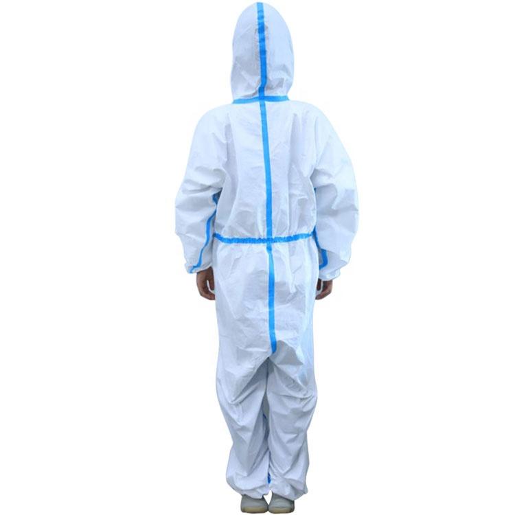Одноразовые защитные платья-комбинезоны Европейского типа 3 4 5 6