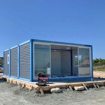 Durable low cost insulated flat pack metal modern steel 20ft shipping container home building plans to thailand from China