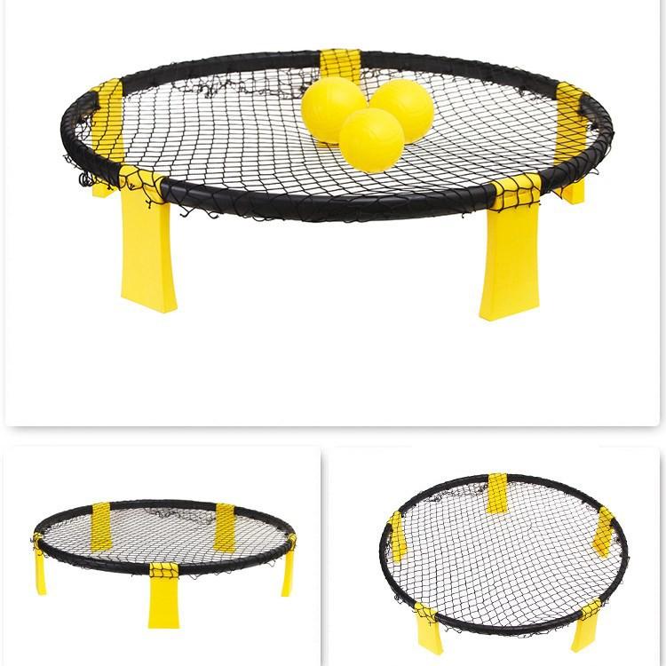 Tking, настраиваемый логотип, задний двор, пляжный спортивный набор для игры, Spyderball, круглая сетка, разбивающий мяч, комплект для игры на открытом воздухе, 3 мяча