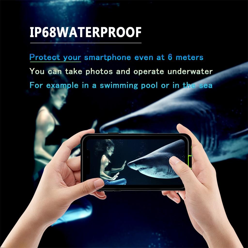 Чехол для IPhone 11pro Max 6,5 дюймов Чехол Крышка Прозрачный защитный чехол для защиты от царапин Водонепроницаемый Противоударная крышка чехол(Китай)