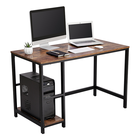 VASAGLE Writing Workstation Mdf Wooden Cost-Effective Study Table Small Wood Computer Desk Movable Computer Stand