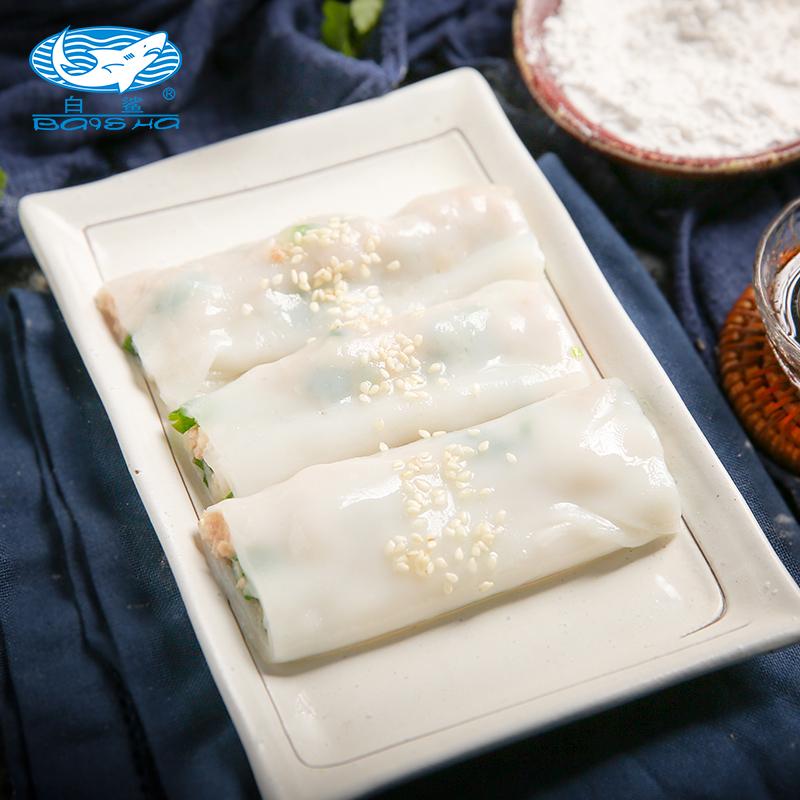 China Baisha Brand Flour for Wet Rice Paper premix Cantonese rice roll Rice flour Home-making 454g*20