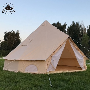 Professional 2018 outdoor camping used canvas wall safari tent