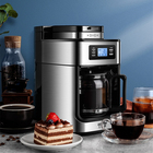 Coffee Machine Coffee Machine 2021 New Idea BG315T Cafe Home Coffee Maker Grinding 1 Coffee Machine Maker Drip Automatic Coffee Machine