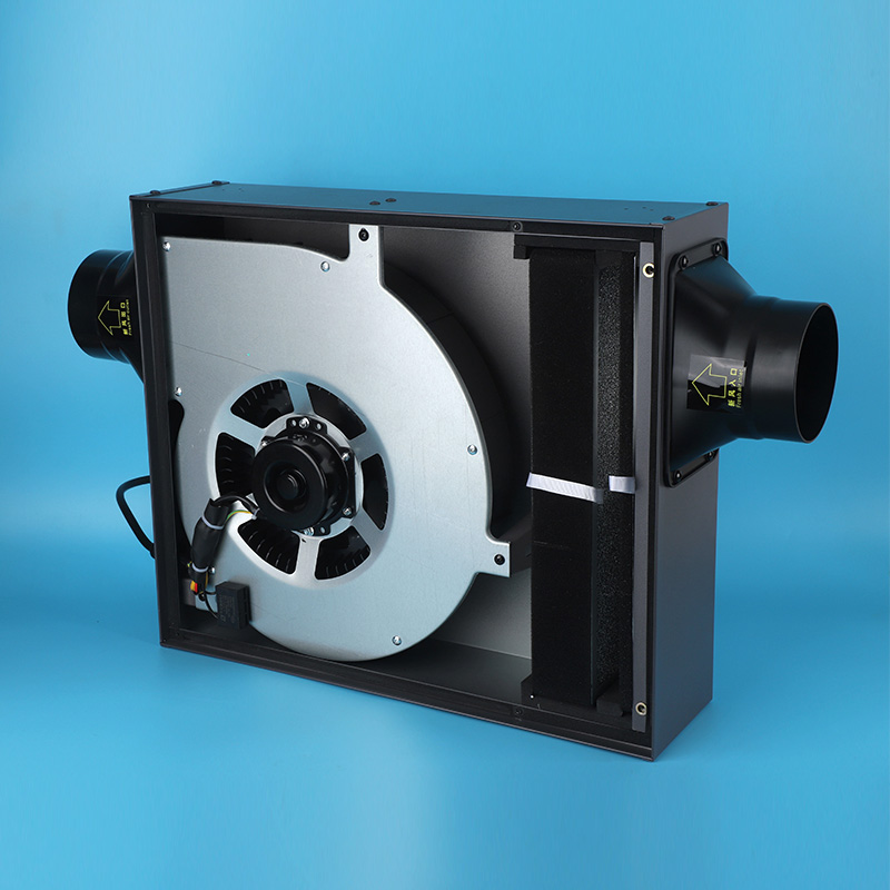 Hepa Filter Air Cleaner Inline Centrifugal Duct Fan 100mm for Household Fresh Air System