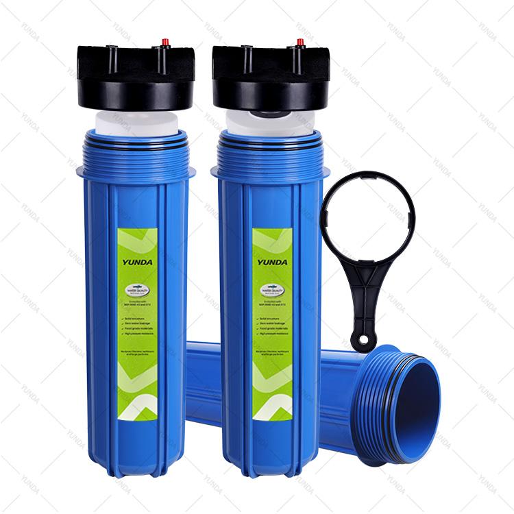 Порт 3/4 дюйма с 2 клапанами для уменьшения осадка, система фильтрации всего дома