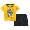 Yellow and black pants