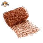 Home Brewing Distilling Copper Mesh Rolls Scrubber Scourer Mesh 4 Wire