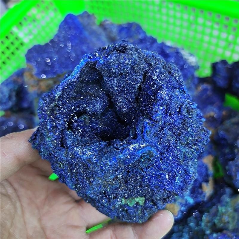 Wholesale Bulk High Quality Rare Azurite Malachite Gemstone Raw Rough Azurite stone Ore For Decoration