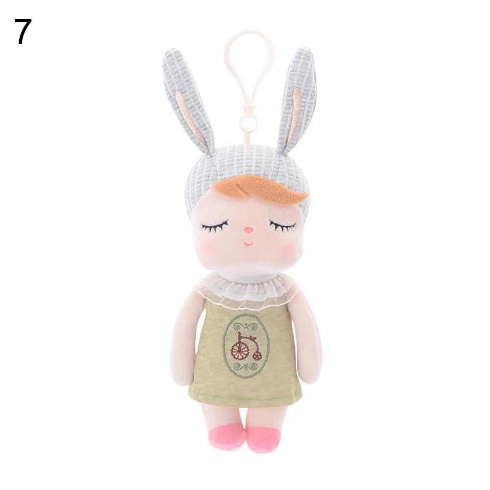18 см милая девочка кролик животное плюшевая кукла игрушка автомобиль брелок кулон украшение для брелока мягкая детская игрушка Анжела(Китай)