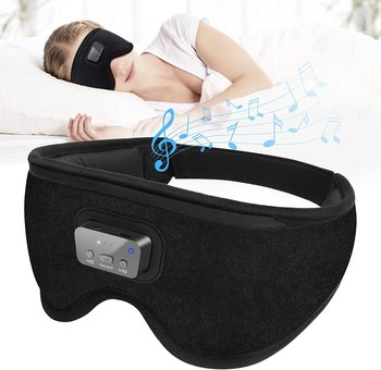 2021NEW Amazon Hot Selling Products 3D Design Eye Sleep Mask Travel Music Play Sleeping Eye Mask with 20 soothing music