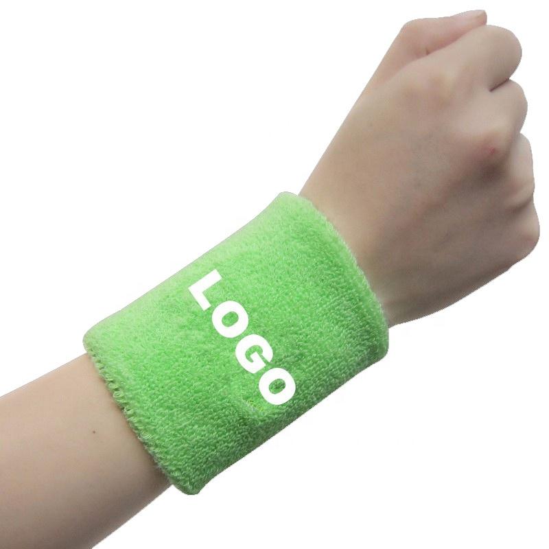 Цветные спортивные браслеты, наручные повязки на запястье, повязка на запястье, Пользовательский логотип, поддержка запястья