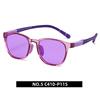 5. Transparent purple/ light purple C410-P115